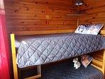 Chambre 3 lits en 90 cm