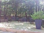 Shady Garden Deck