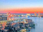 VIEW MAGNIFICENT SUNSETS OVER  THE INTRA COASTAL AND CLEARWATER BEACH FROM YOUR PVT. BALCONY.