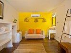 Vista Habitacion Amarilla