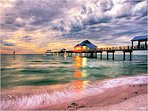 PICTURESQUE SUNSETS OVER THE GULF