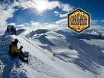 Back country ski with Chugach Powder Guides - 3 miles away