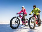 Rent a fat tire bike and explore the trails