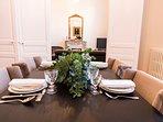 Les Effrontés Louis Blanc - L'enfilade salle à manger - salon