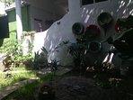 jardín feliz