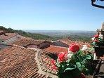Balcón vistas a la montaña