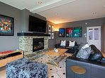 Warm accommodation with a heat pump and new easy-to-use gas fire