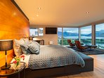 The master bedroom with a true 'wow factor'
