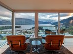 A spectacular spot to put your feet up, relax and admire the views