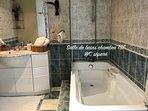 Salle de bains privative Chambre TSF 2 personnes