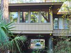 Relax in the sunroom. Lots of room to spread out, great location, close to 'everything'