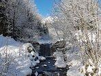 Winterwanderweg zum oberen Gletscher