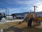 Parque infantil Caleta de Famara. Junto a Casa Chinijo.