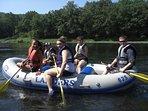 Local River rafting
