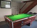 The May Annex Games Room with brand new shower room and access to the bedroom which sleeps 3