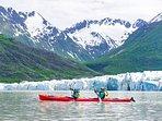 Kayak among the glaciers