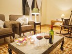 Enjoy a lovely evening with your loved ones in the numerous gathering places this villa has to offer
