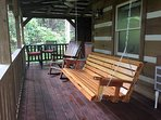 Front Deck with Swing