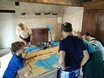 Atelier cerf volant organisé par Pieter