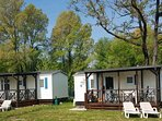 Holiday chalets Camping Class aan Lago Pusiano