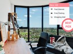 Designer Home With View | 2 BED in Box Hill