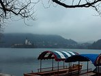 Lake Bled in early winter (still nice ! )