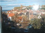 Wonder view of Whitby from the top bedroom..