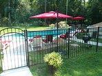 Fenced Pool area