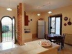 Kitchen - Large fridge and Dishwasher
