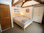 2nd double bedroom with harbour views
