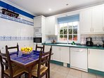 Kitchen with table for 4 persons
