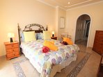 Masterbedroom with en suite bathroom and balcony with Atlantic view