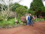 Ed and Bonita welcome you to their Quinta das Acacias with 6 cottages in 8000m2 private garden.