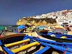 a reminder of Carvoeiro's fishing village heritage...