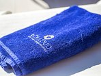 Pool towels are provided.