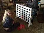 There's giant connect four