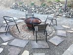 Enjoy the fire pit at night