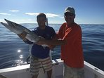 20 miles out from shore....watch out for the Barracuda!