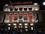 Fachada teatro Jovellanos Navidad 2018