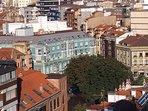 Plazuela San Miguel desde el aire