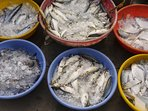 Straight from the source to the kitchen. Visit the nearby fishermen's market to see the fresh catch