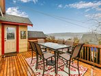 NEW LISTING! Bay view home, blocks from restaurants, shopping, and waterfront!
