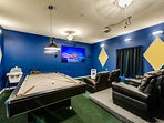 Simba's Magic villa by Emerald Island Rentals:Amazing private theater and game-room