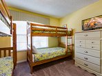 Kids bedroom with two bunk beds