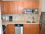 Fully equipped kitchen to economize your trip