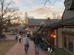 Over 80 unique shops to explore as you walk along Peddlers beautiful brick walkways. Go explore.