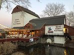 New Hope is home to the famous Bucks County Play House. many Hollywood actors play here.