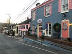 Not only is New Hope's main street beautiful, but so are all its side streets.