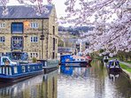 Thanks to Katie Sykes for this lovely view of the Rochdale Canal at nearby Sowerby Bridge
