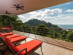 Enjoy the natural beauty of the lush tropical forests growing on the surrounding mountains